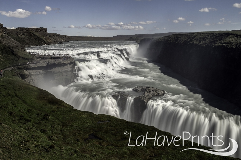 Gullfoss by Terry Humphries