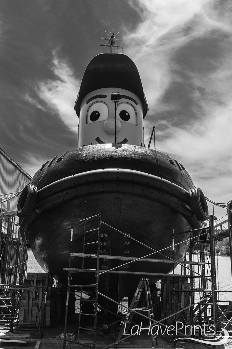 Mr Theodore Tugboat by Terry Humphries